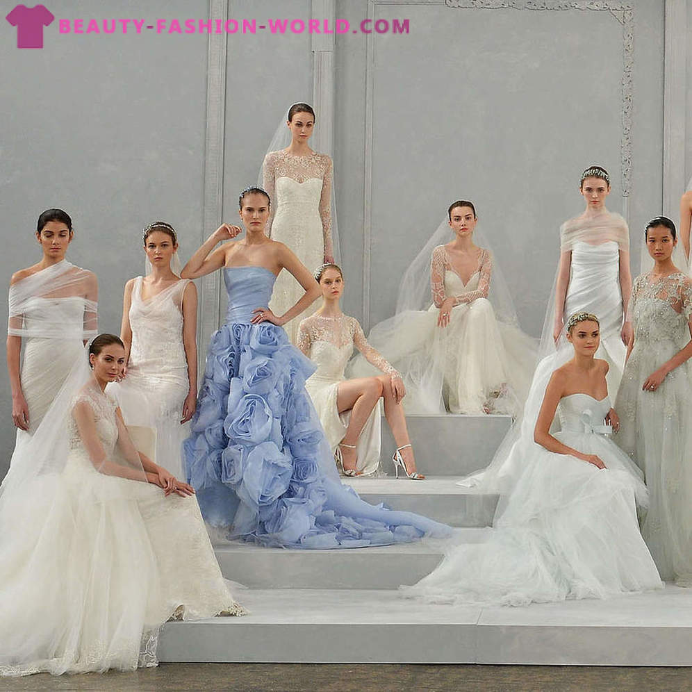 Wedding Collection from Monique Lhuillier Spring-Summer 2015