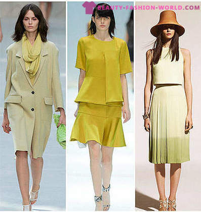 Trendy colors of spring-summer 2014