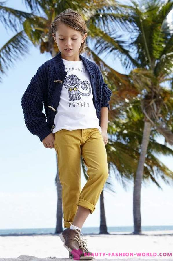 Clothes for spring-summer 2014 for boys from Monnalisa