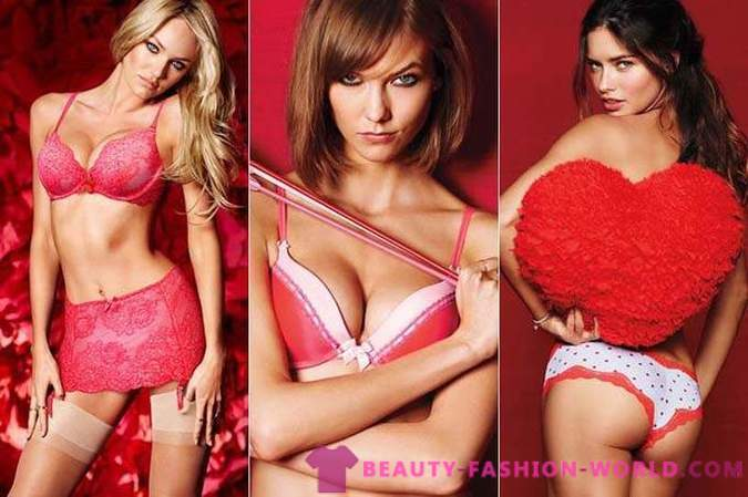 We meet Valentine's Day 2014 in the Victoria's Secret lingerie
