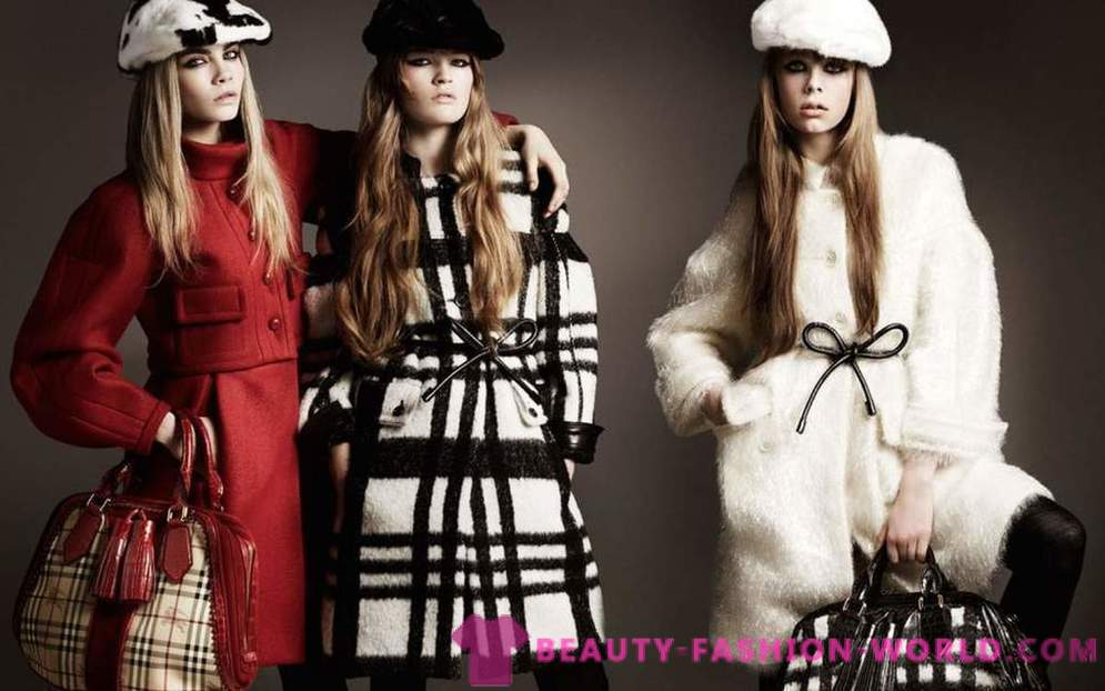 Trendy Winter images from the Burberry 2014