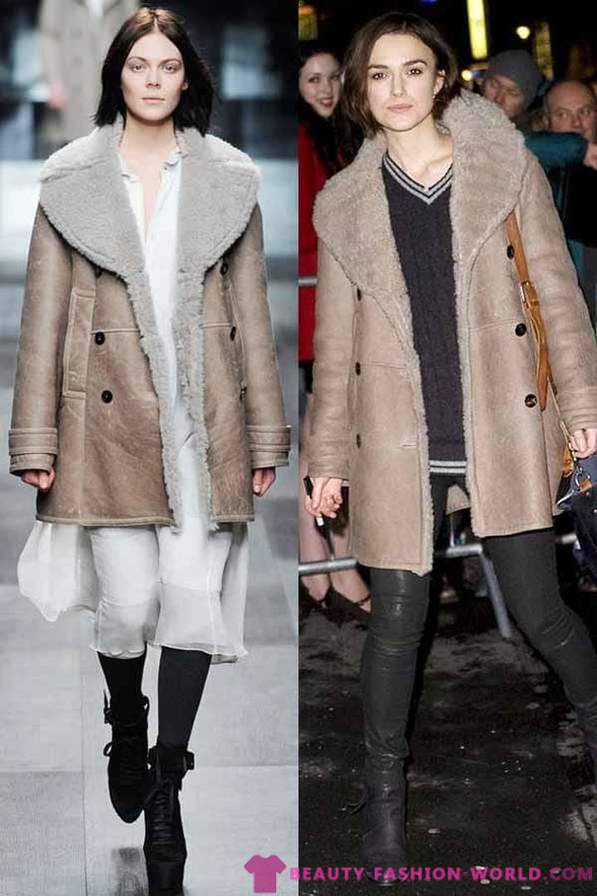 From what to wear sheepskin winter 2013-2014