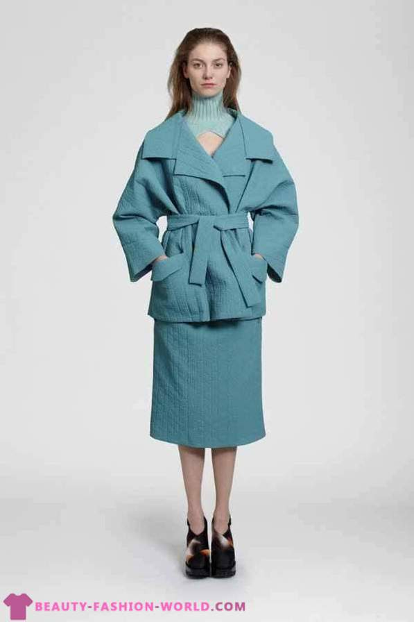 Women coat from Carven 2013-2014