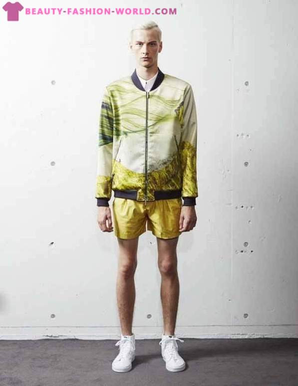 Bright collection of men's clothing from the brand Liberum Arbitrium Spring-Summer 2014