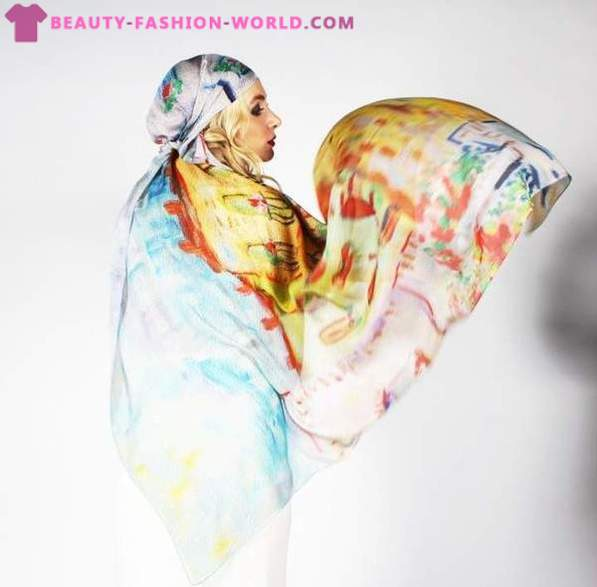 Women's scarves 2013 on ABOLONDON