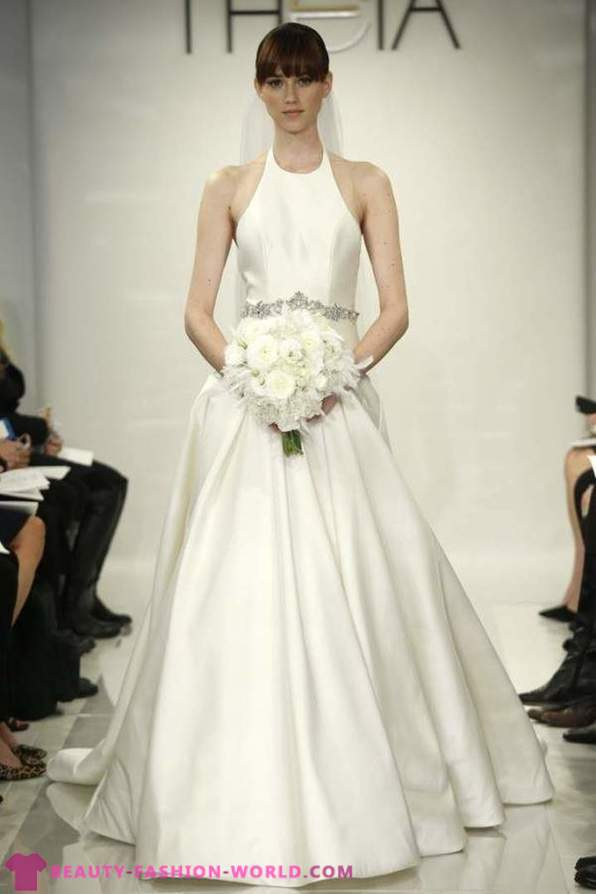 Collection of wedding dresses from Theia in the 2014-2015 year