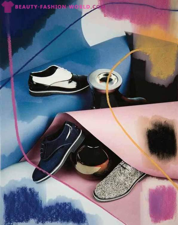 The new shoe collection autumn 2013 the brand Tod's