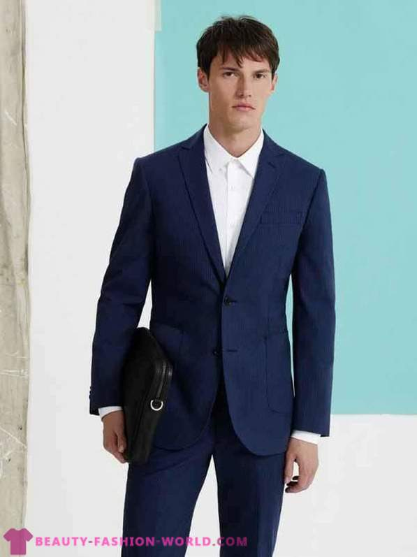 Summer menswear collection in 2014 by SABA