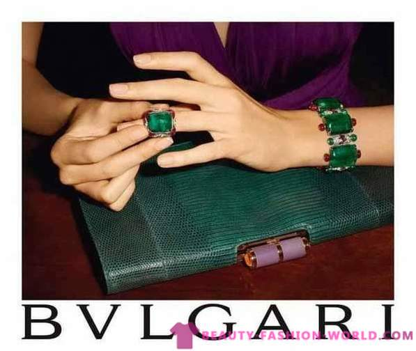 Bvlgari jewelry in the new collection Fall-Winter 2013-2014