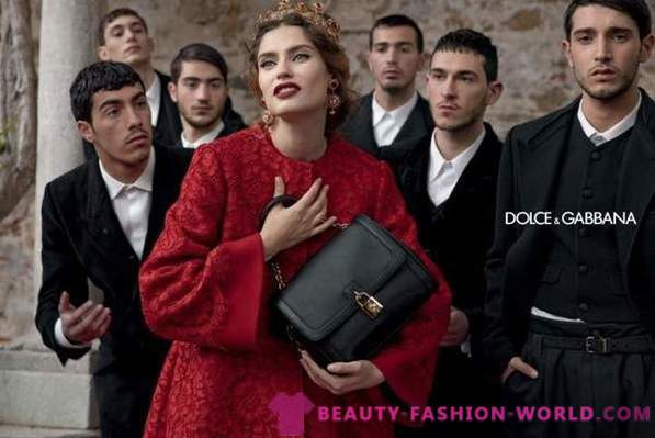 Leather purses and handbags Dolce & Gabbana Fall-Winter 2013-2014