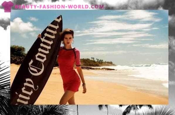 Advertising company beachwear Juicy Couture Summer 2013