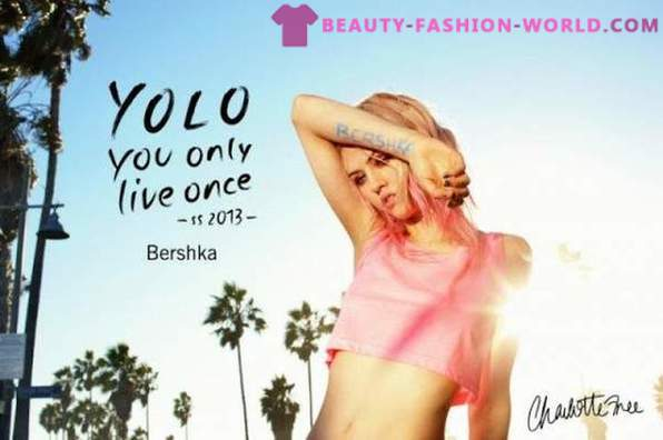 Bershka Catalog 2013 on the Spring-Summer