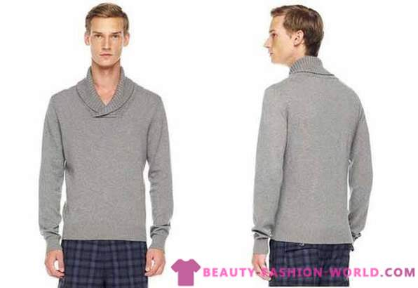 Fashion models men's sweater from Michael Kors 2013-2014