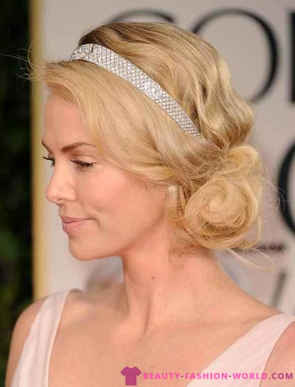 Holiday hairstyles with their hands 2012-2013