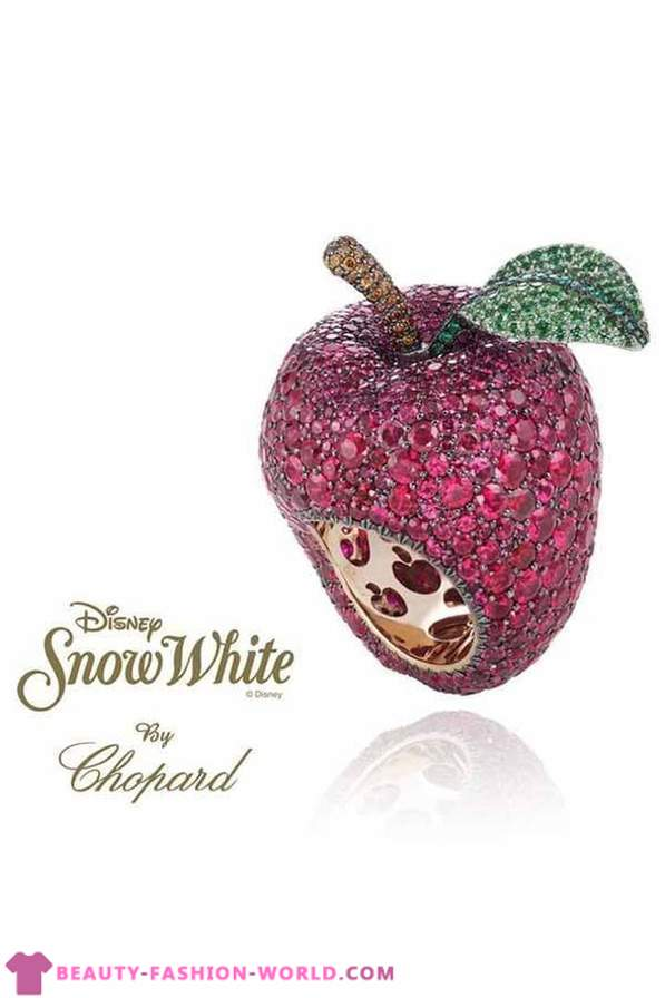 2012 jewelry by Chopard Collection Disney Princess