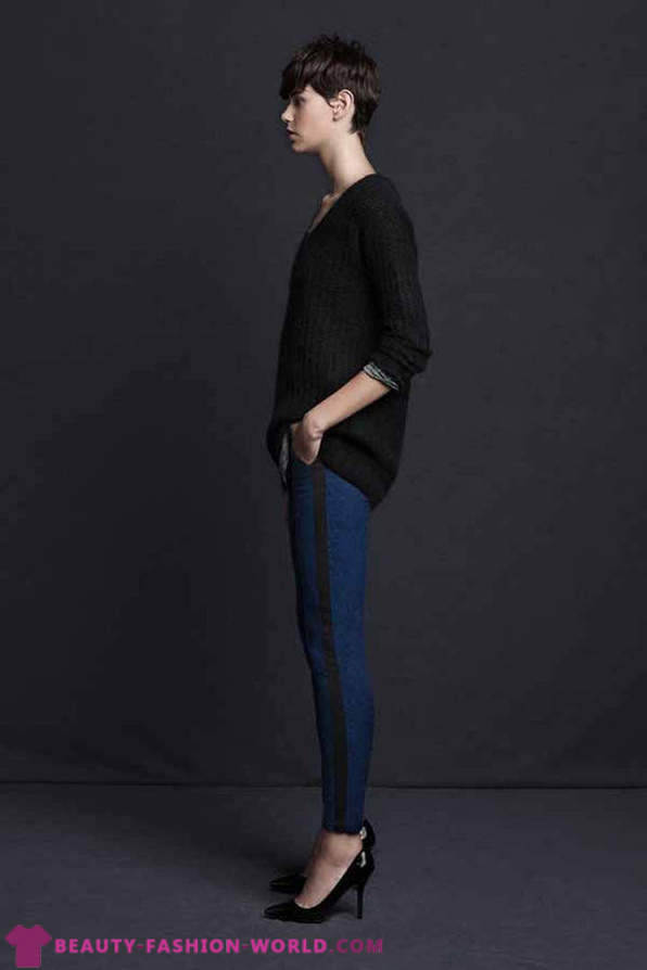 Collection of Zara TRF Lookbook Fall 2012. The November