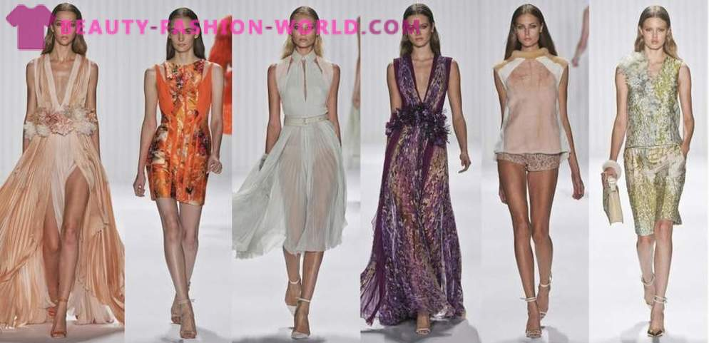 J.Mendel spring-summer collection of clothing in 2013