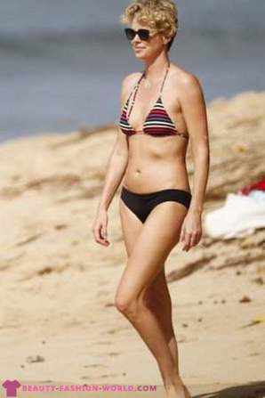 What swimsuits are the stars: Tips Beach image from celebrities
