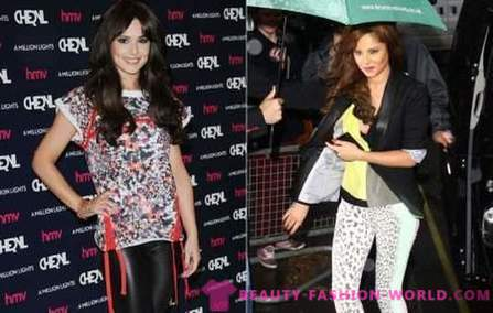 Star style of Cheryl Cole