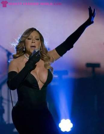 Black dress Mariah Carey did not leave anyone indifferent to the BET Honors Awards
