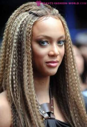 Model and TV host Tyra Banks