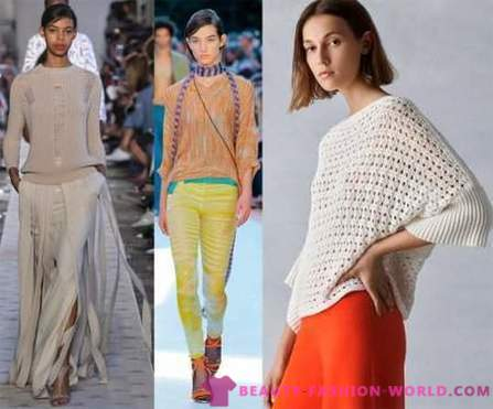 Fashionable knitted and crocheted apparel - 2018