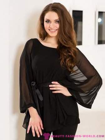 Fashion chiffon tunic