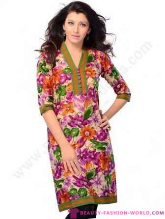 Fashionable summer tunics