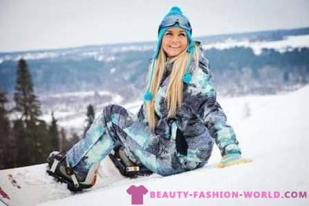 Trendy clothes for skiing - 2017