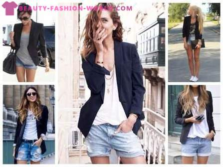 Fashionable women's blazers -2017: what and how to wear them?