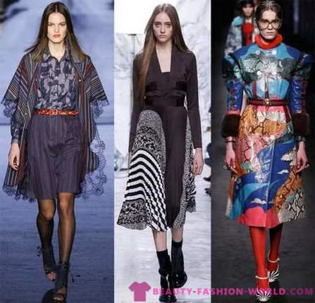 Fashion trends Autumn-Winter 2016/2017