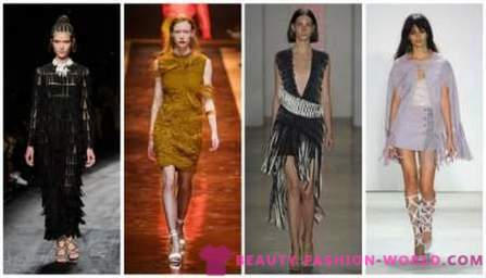 Fashion trends for Spring-Summer 2016