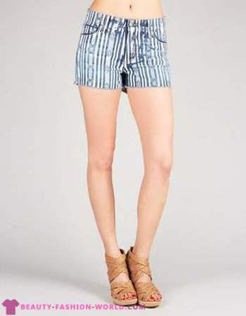 Women's fashion denim shorts