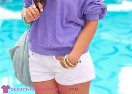 Flirty summer shorts