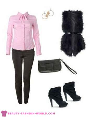 From what to wear fur vest. The fashion for fur vests