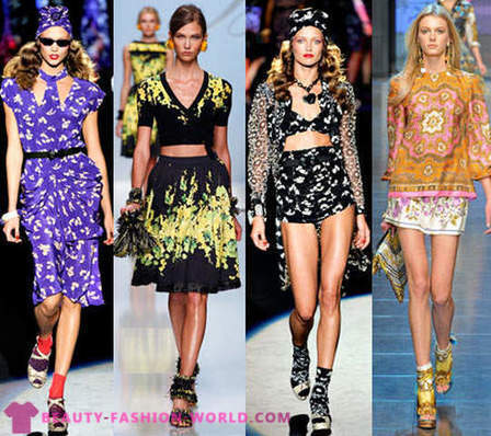 Fashion trends Spring-Summer 2012